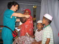 Cure e visite ai bambini - Kinniya per la Vita Onlus